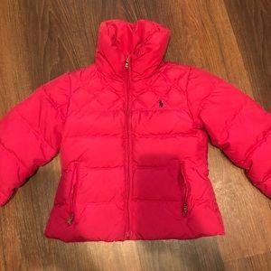 youth small polo jacket